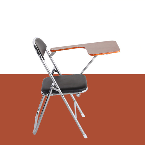 Titonic Leather Foldable Writing Chair Image 6