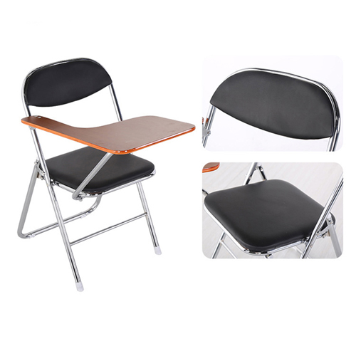 Titonic Leather Foldable Writing Chair Image 9