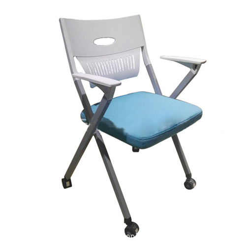 Wheelbase Foldable Chair With Writing Pad Image 7