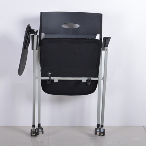 Wheelbase Foldable Chair With Writing Pad Image 9