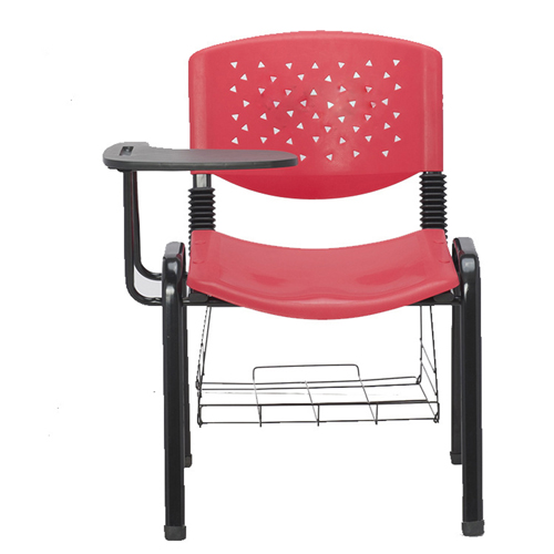 Stackable Writing Chair With Book Basket Image 1