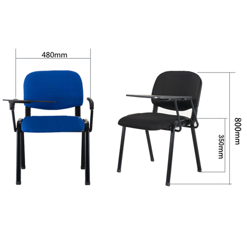 Sycop Stackable Chair with Writing Board Image 11
