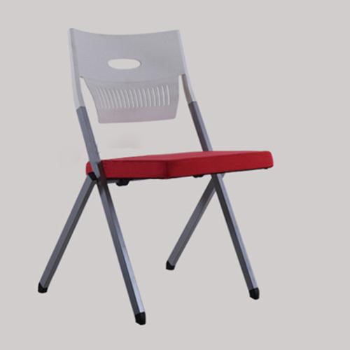Sleeky Foldable Flat Padded Metal Chair Image 9