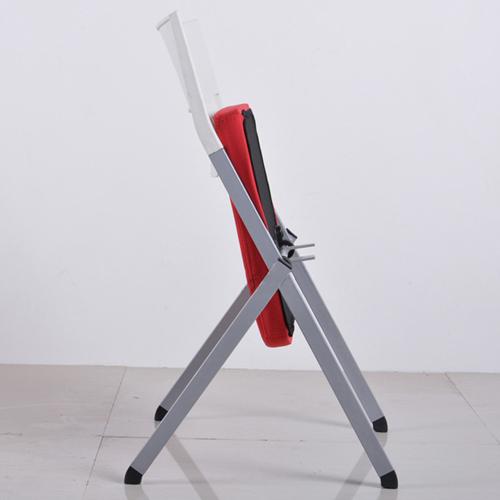 Sleeky Foldable Flat Padded Metal Chair Image 2
