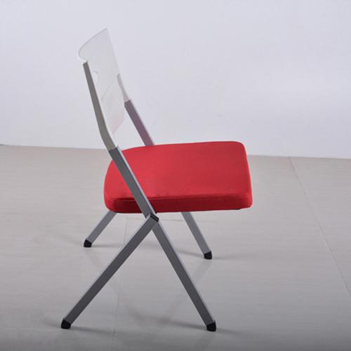 Sleeky Foldable Flat Padded Metal Chair Image 3