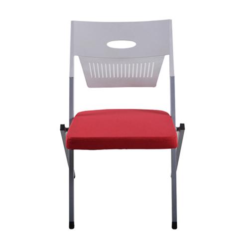 Sleeky Foldable Flat Padded Metal Chair Image 4