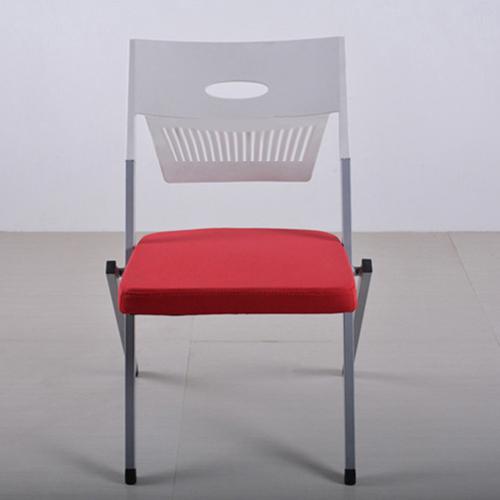 Sleeky Foldable Flat Padded Metal Chair Image 5