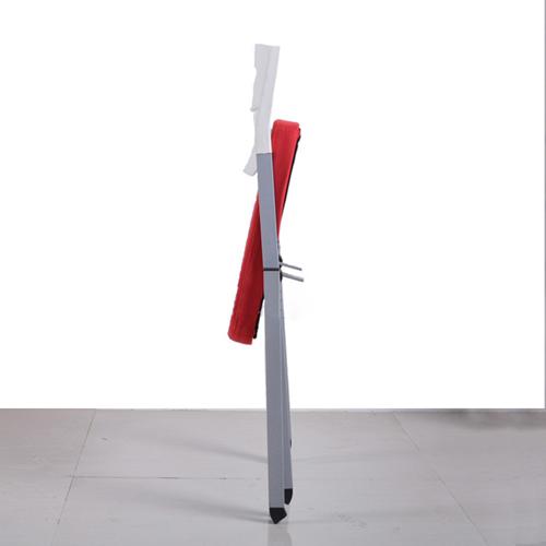 Sleeky Foldable Flat Padded Metal Chair Image 7
