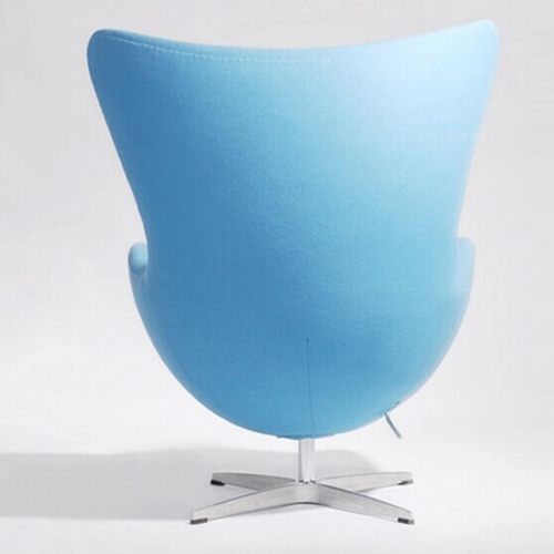 Artego Egg Swivel Wool Chair Image 11
