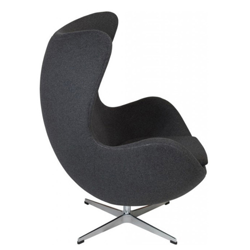 Artego Egg Swivel Wool Chair Image 12
