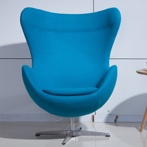 Artego Egg Swivel Wool Chair Image 5