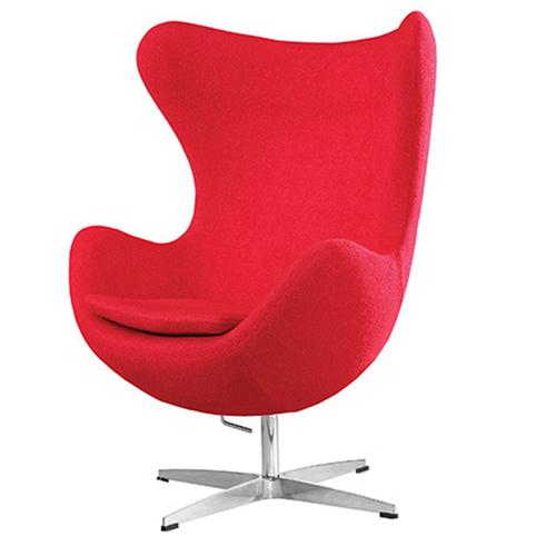 Artego Egg Swivel Wool Chair
