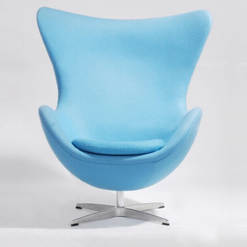 Artego Egg Swivel Wool Chair Image 8