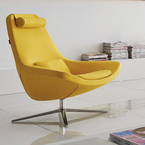Leisure Shell Swivel Armchair Image 2