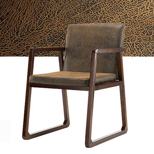 Solid Ash Wood Armrest Chair Image 16