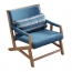 Besto Wood Sofa Single Seater