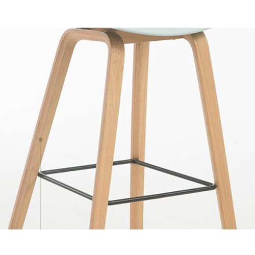 Briny Wooden Feet Bar Stool Image 10