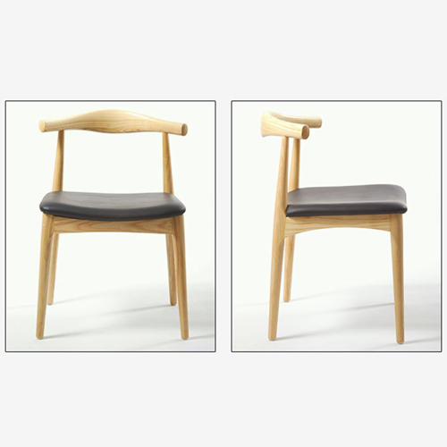 Nordic Wood Bull Horn Chair Image 12