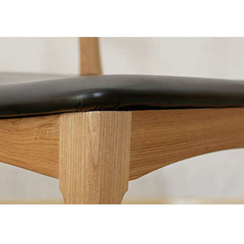 Nordic Wood Bull Horn Chair Image 16
