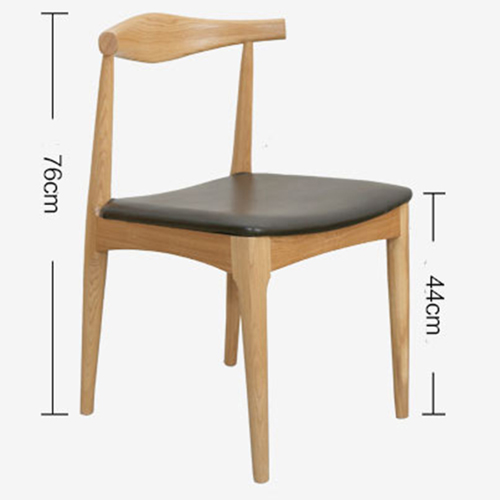 Nordic Wood Bull Horn Chair Image 18