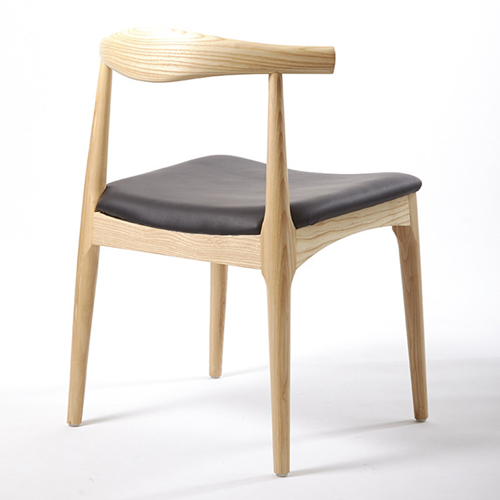 Nordic Wood Bull Horn Chair Image 3