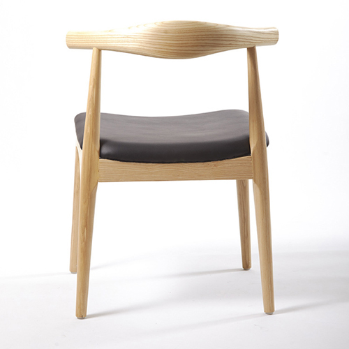 Nordic Wood Bull Horn Chair Image 4