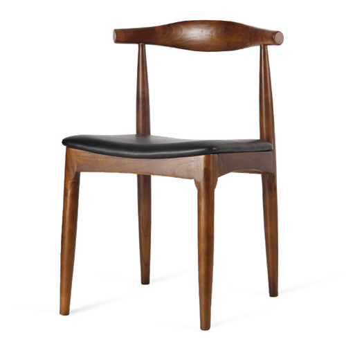 Nordic Wood Bull Horn Chair Image 5