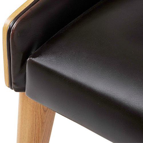 Bentwood Dining Leather Hole Chair Image 12