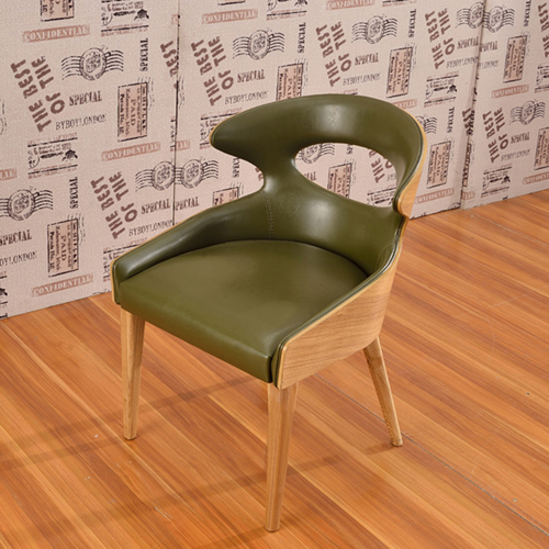 Bentwood Dining Leather Hole Chair Image 5