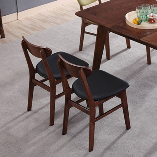 Distilitone Solid Wood Restaurant Table and Chairs Image 9