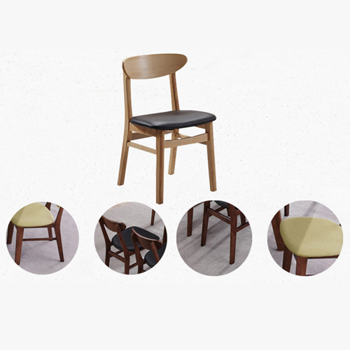 Distilitone Solid Wood Restaurant Table and Chairs Image 10