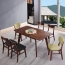 Distilitone Solid Wood Restaurant Table and Chairs Image 1