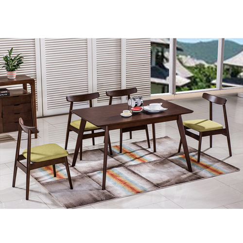 Distilitone Solid Wood Restaurant Table and Chairs Image 3
