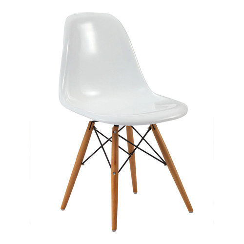 Emoltra Wooden Leg Dining Side Chair