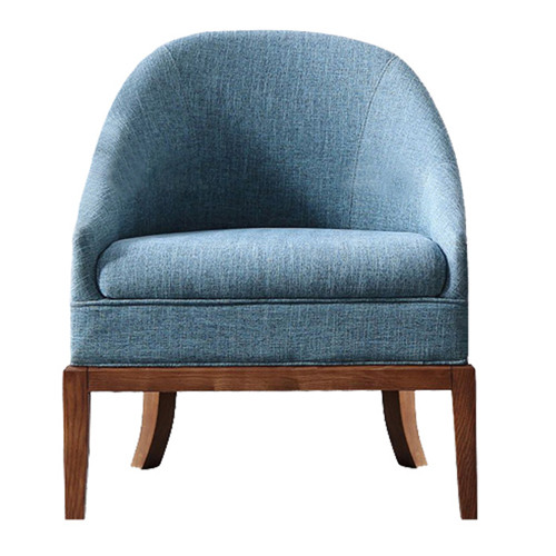 Accent Upholstered Barrel Chair Image 3