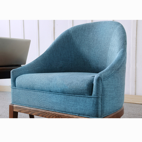 Accent Upholstered Barrel Chair Image 7