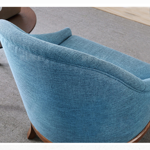 Accent Upholstered Barrel Chair Image 8