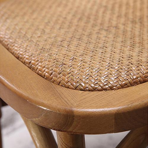 Cross Banded Back Restaurant Chair Image 10