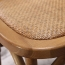 Cross Banded Back Restaurant Chair Image 10