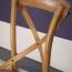 Cross Banded Back Restaurant Chair Image 11