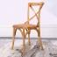 Cross Banded Back Restaurant Chair Image 5