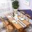 Cross Banded Back Restaurant Chair Image 8