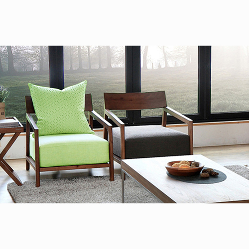 Nordic Lazy Single Sofa Armchair Image 9
