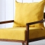 Nordic Lazy Single Sofa Armchair Image 10