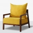 Nordic Lazy Single Sofa Armchair