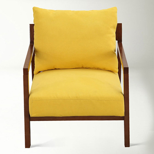 Nordic Lazy Single Sofa Armchair Image 4
