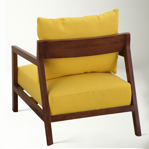 Nordic Lazy Single Sofa Armchair Image 6