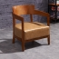 Dinette Wooden Frame Cushion Armchair Image 2
