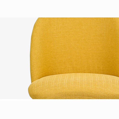 Mid-Century Sloping Back Fabric Chair Image 16
