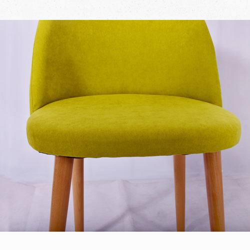 Mid-Century Sloping Back Fabric Chair Image 20